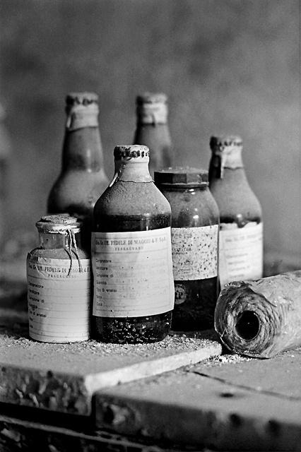 Abandoned distillery of Fedele di Maggio and Sons in Fragagnano, Taranto (Italy)