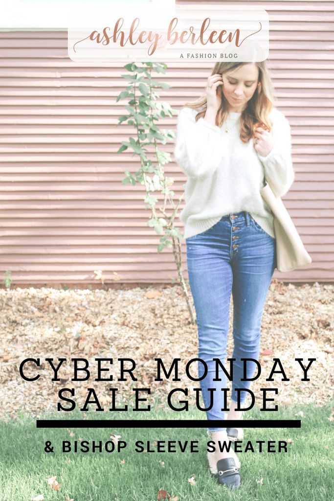 Cyber Monday deals all rounded up for you here, with a TON of special deals! I'm also sharing this sweater, which is on major sale this Cyber Monday!