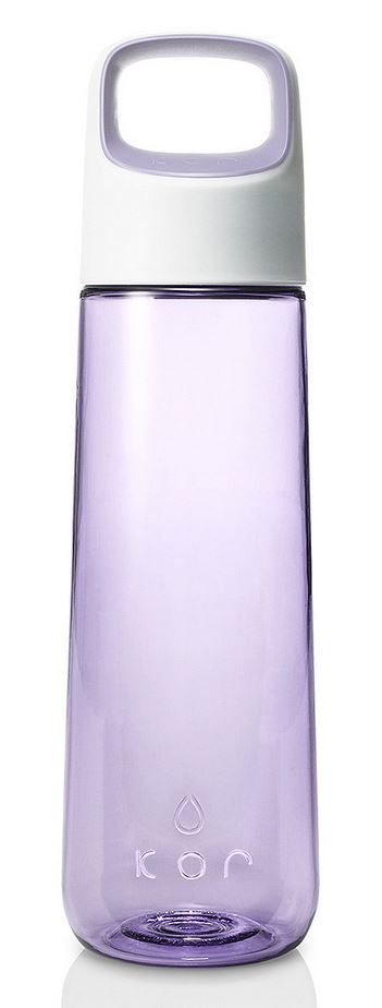 KOR Aura water bottle // lavender purple