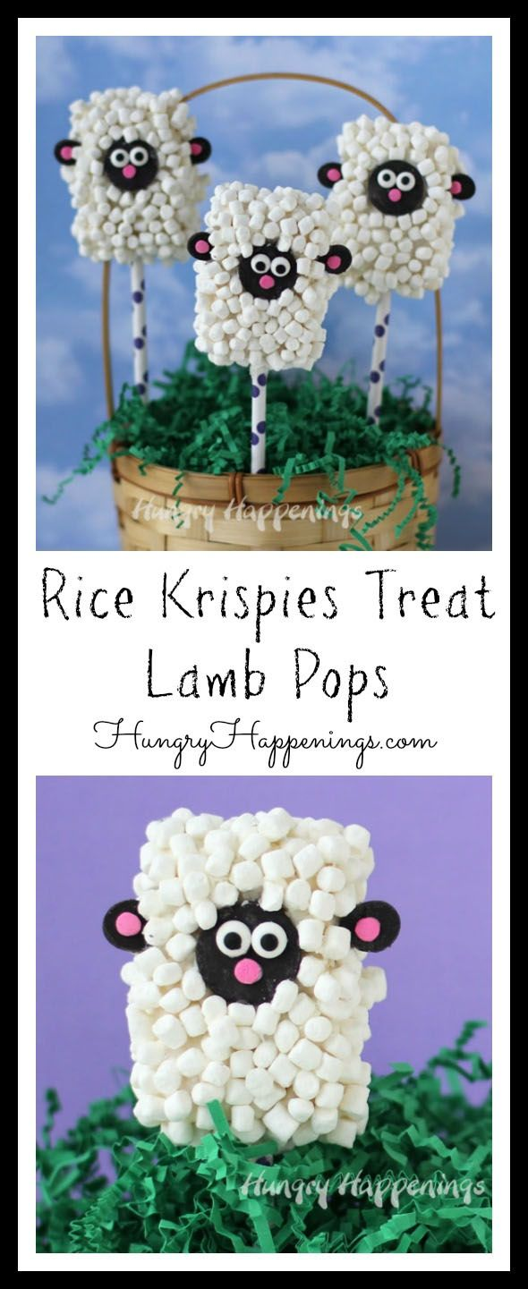 Home handmade candies chocolate dipped rice krispy treats 2 - Everyone Loves Rice Krispies Treats So Why Not Make Them Into A Festive Easter Basket