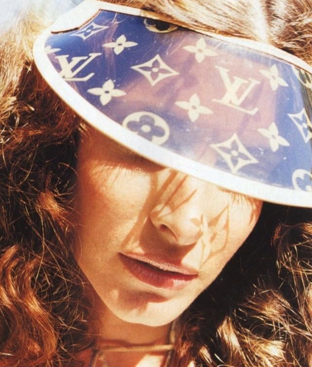 LV visor and sunshine