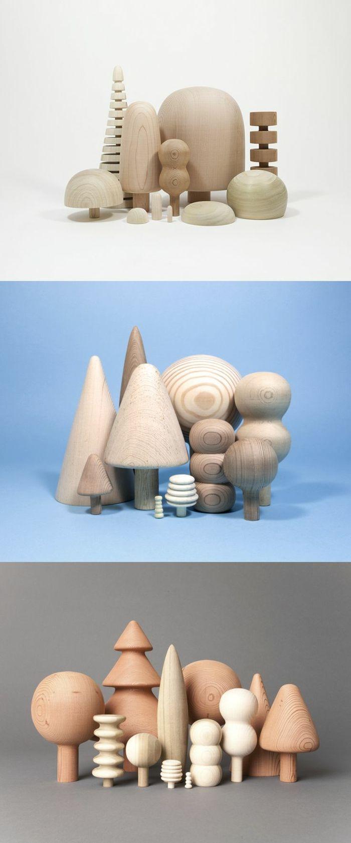 Les jouets en bois - idées créatives d'amusement                                                                                                                                                     Plus