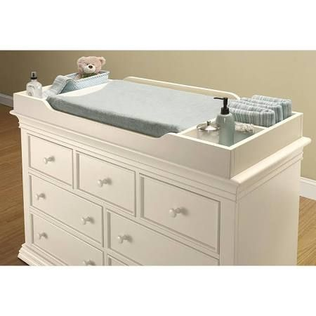 changing table dresser topper white - Google Search