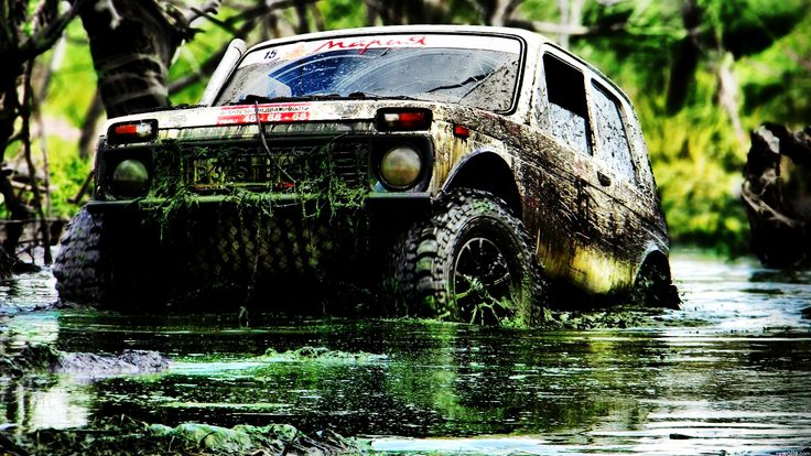 Roading 4X4 Offroad | Off Road Jeep covered Mud HD Wallpaper