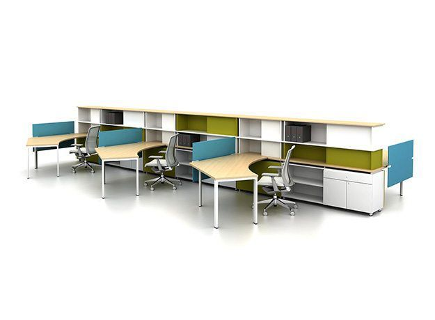 Haworth rbb benching workstations pinterest starters design inspiration and spaces - Hayworth office furniture ...