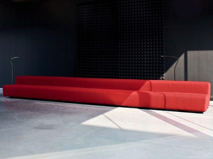 Sofá composable para hostelería OSAKA | Sofá modular by La Cividina | diseño Pierre Paulin