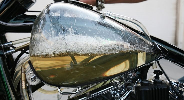 Transparent Motorcycle Gas Tank Motorcycle Tank Bike