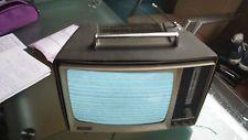tragbarer schwarz / weiß Fernsehe KUBA
