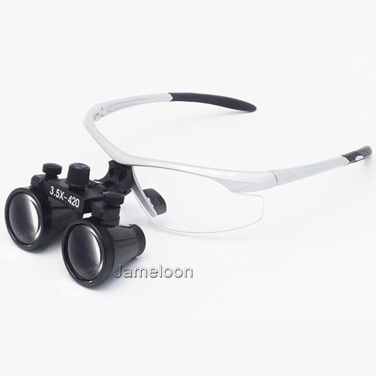 49.00$  Watch now  - 3.5X enlargement surgical magnifier medical binocular antifog optical glasses ENT dentistry stomatology oral dental doctor loupe