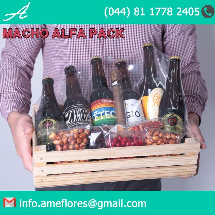 Para ese amigo macho alfa lomo plateado barba de leñador que todos conocemos. #arreglos #Regalos #machoalfa #cerveza