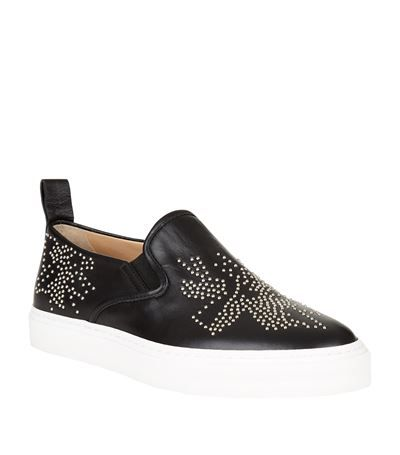 Chloé Banshee Skater Slip-On Sneaker available to buy at Harrods. Shop women's shoes online and earn Rewards points.