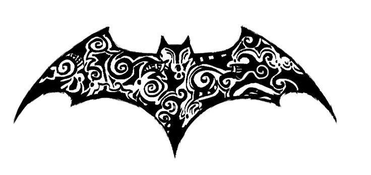 batman symbol tattoo | Ink | Pinterest | Batman Symbol Tattoos ...