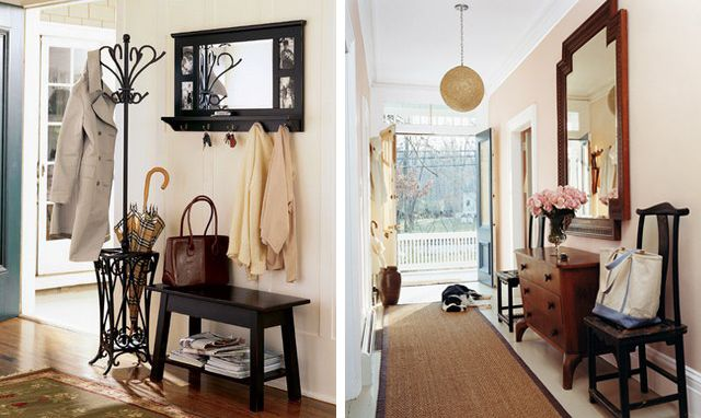 Small Entryways & Foyers Design Decor Inspiration   via ... love Maegan