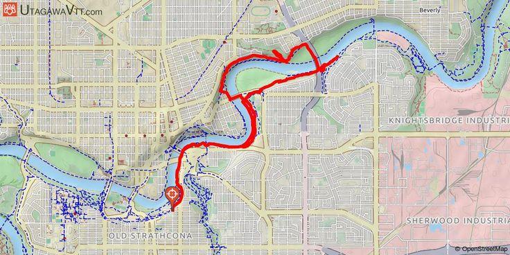 [Canada] Edmonton's River Valley (East) Avec plusieurs centaines de kilomètres de sentiers, la vallée de la rivière d'Edmonton (Edmonton's River Valley) est le plus grand parc urbain d'Amérique du Nord, ce qui fait d'Edmonton le paradis du vététiste urbain. Cet itinéraire vous mènera sur les sentiers de l'est de la vallée. Bien qu'il soit au cœur de la ville, l'itinéraire est presque uniquement composé de single-tracks et ne comprend aucun passage sur route ouverte à la circulation.