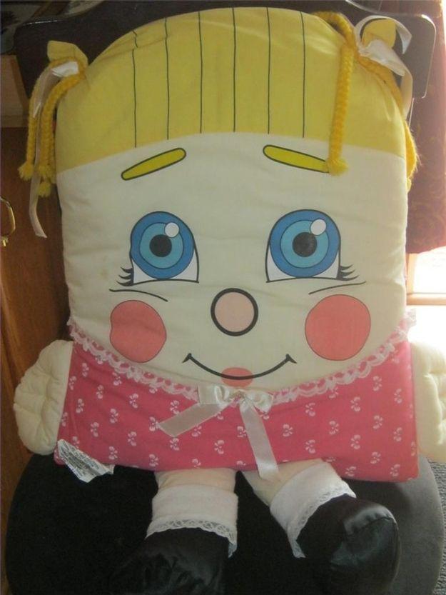 1985 Pillow People Girl Pillow