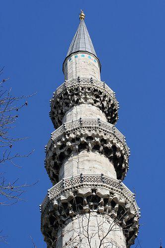 Minaret of Süleymaniye Mosque