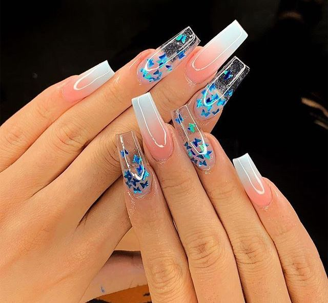 Pin By Georgie Maita On Nails Tips In 2020 Best Acrylic Nails Pink Acrylic Nails Pretty Acrylic Nails
