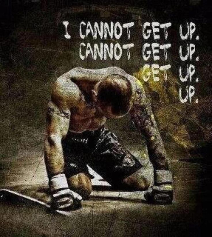 You are stronger than you think. No matter what happens you have and can always get up. UP!