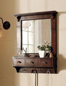 LE-80019 dressing mirror with coat rack sheesham wood(1) copy