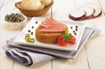 Filetto di tonno con cordon bleu di melanzane - Chef ASDOMAR
