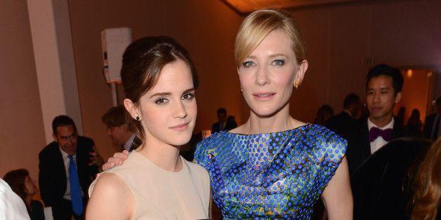 Cate Blanchett Is 'So F--king Proud' Of Emma Watson
