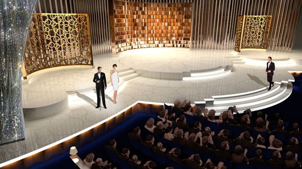 David Rockwell Group 2010 Academy Awards Set Design Kodak ...
