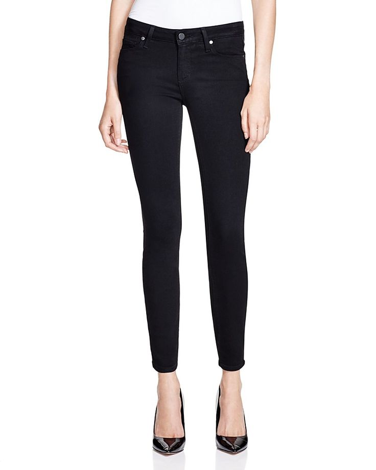 179.00$  Buy now - http://vicce.justgood.pw/vig/item.php?t=c2f8574279 - PAIGE Verdugo Skinny Ankle Jeans in Black Shadow