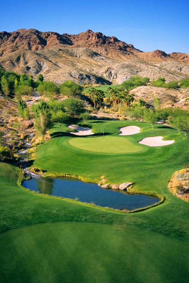 Golf course in Las Vegas