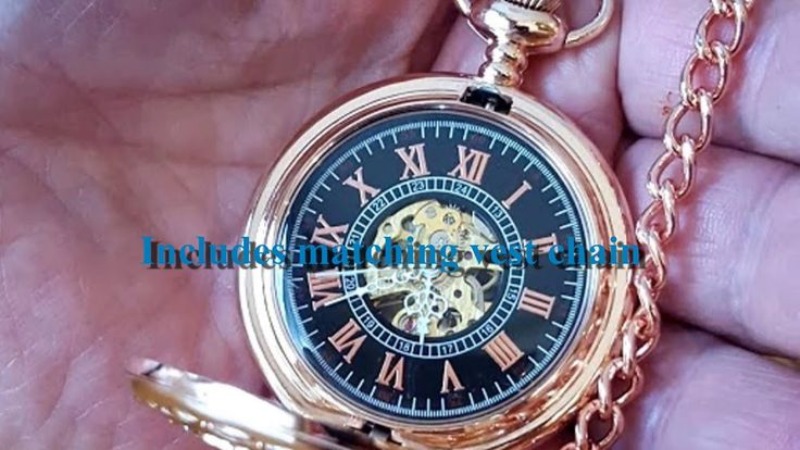 Rose Gold Celtic Pocket Watch by PocketWatchPurveyor