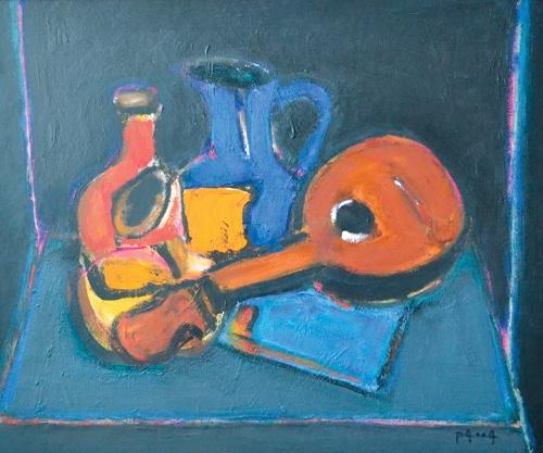 Ion Pacea - Natura statica cu mandolina