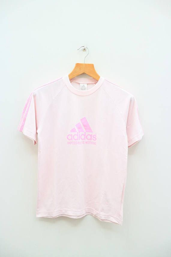 Vintage ADIDAS Impossible is Nothing Triline Big Logo