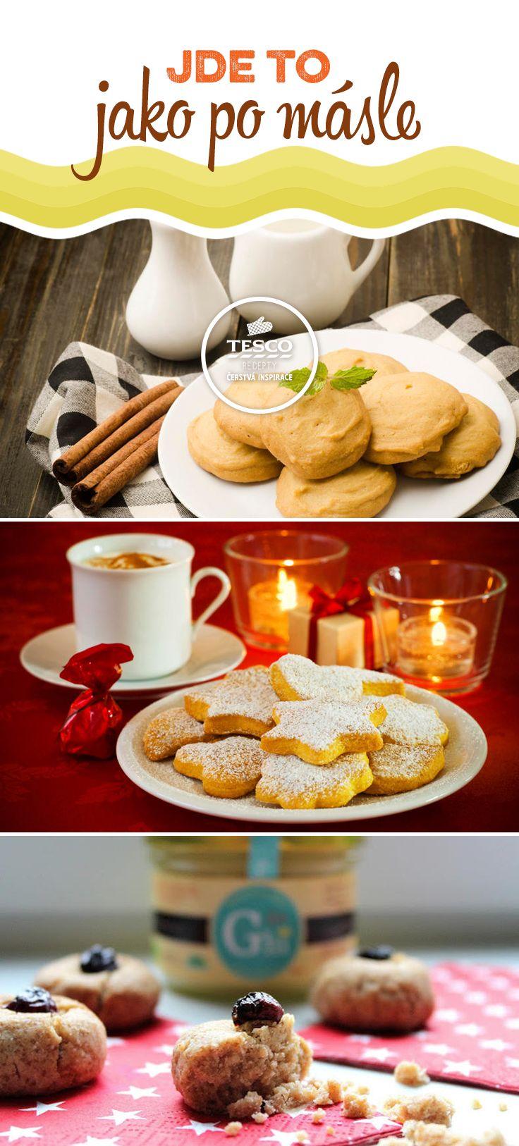 Jemná máslová chuť je to pravé pro vánoční cukroví!