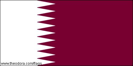 Qatar Flags geographic.org