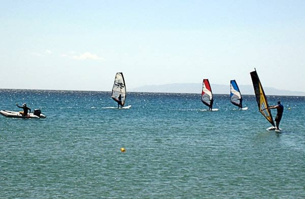 Windsurfing στην Άνδρο | My Andros Hotel