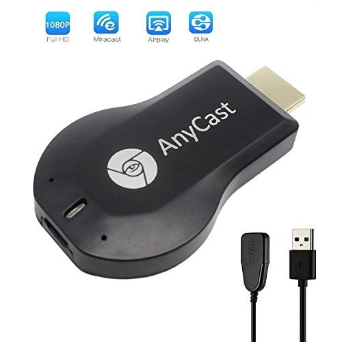 ANVEENA AnyCast M2 Plus+ HDMI Dongle WiFi Display Adapter Receiver 1080P HD TV Stick, Support MiraCast AirPlay DLNA Airmirror #ANVEENA #AnyCast #Plus+ #HDMI #Dongle #WiFi #Display #Adapter #Receiver #Stick, #Support #MiraCast #AirPlay #DLNA #Airmirror