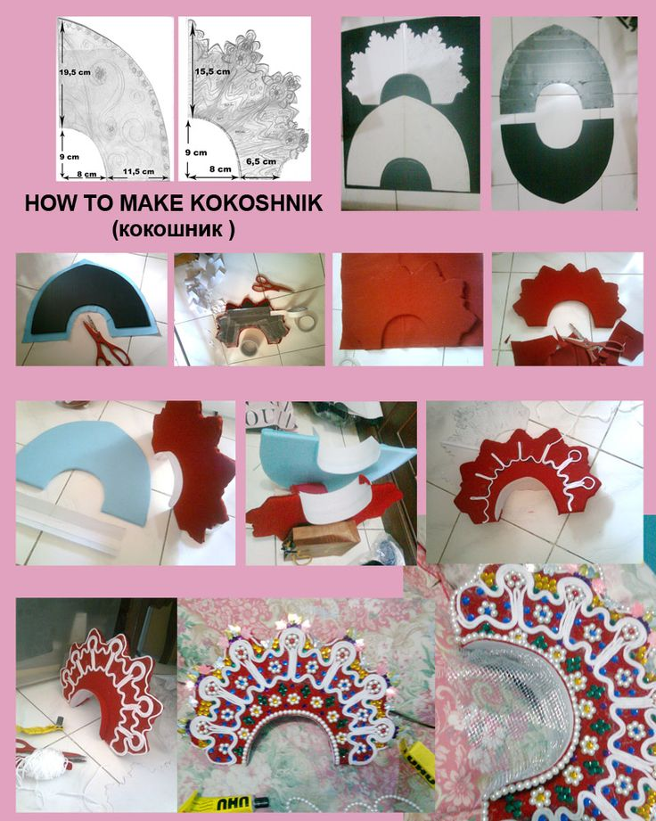 Chap 23 (The First Russians) How to make kokoshnik by seawaterwitch.deviantart.com on @deviantART