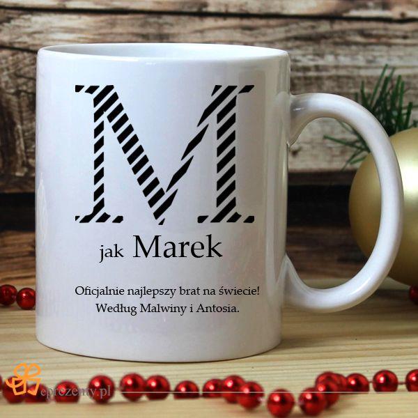 Kubek na kawę z napisem najlepszy brat. Na urodziny wspaniała niespodzianka :) #prezent #urodziny#dlaBrata #grawer http://bit.ly/1StDjB3