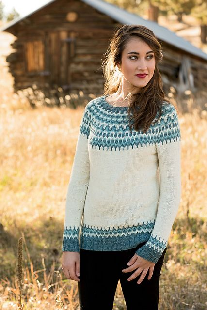 Ravelry: Meltwater Pullover pattern by Kate Gagnon Osborn