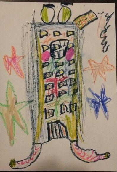 Omul bloc (6 ani)