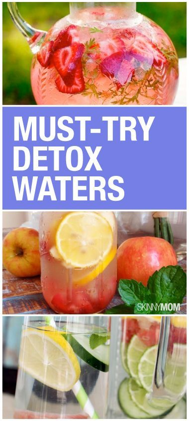 Get your detox on with these cleansing water recipes!