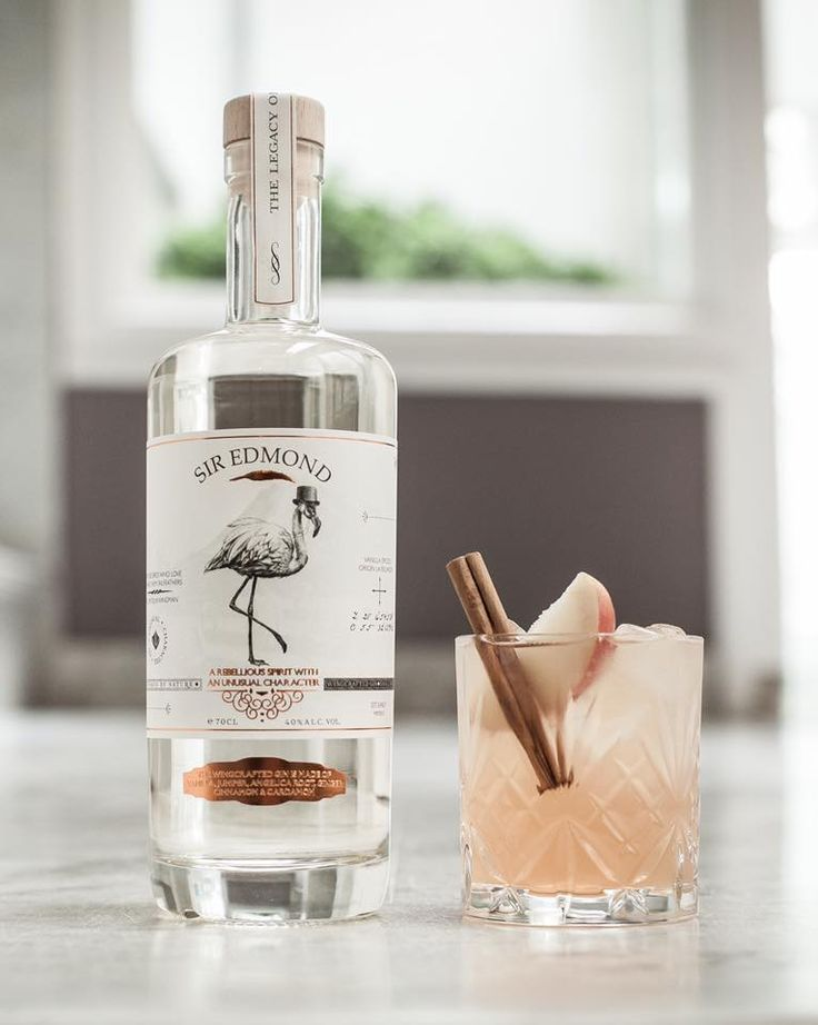 Sir Edmond Gin; 'wing'crafted en vanilla infused.