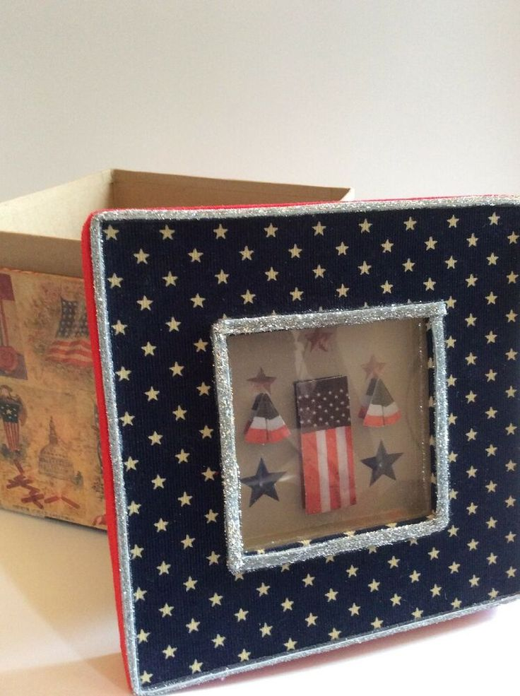 Dillards 4th of july patriotic greetings decorative