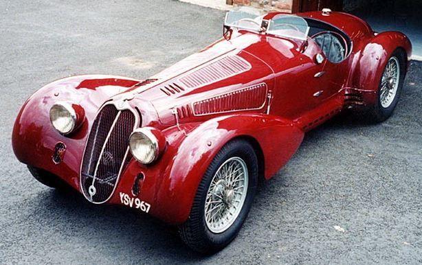 1937 Alfa Romeo 8C 2900- You little beauty!! I love Cool cars…
