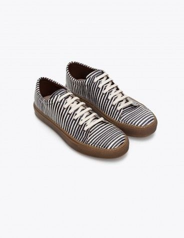 Adrian sneakers stripe black acne studios 340 euro
