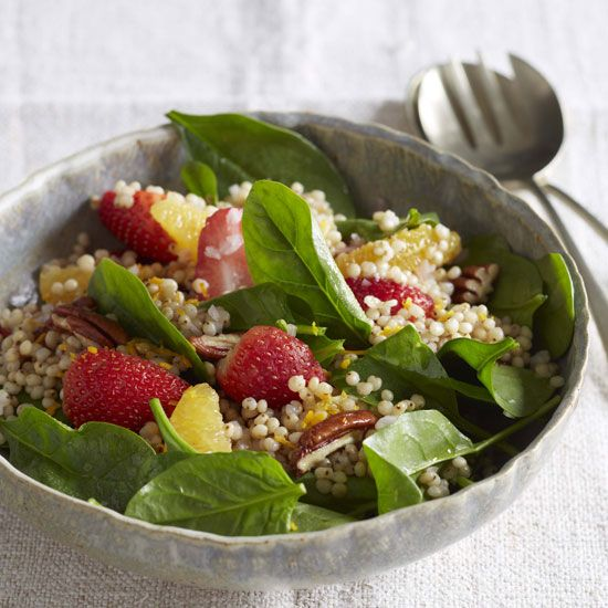 Get nearly all of the daily recommended 3-5 servings of whole grains with this refreshing sorghum salad.