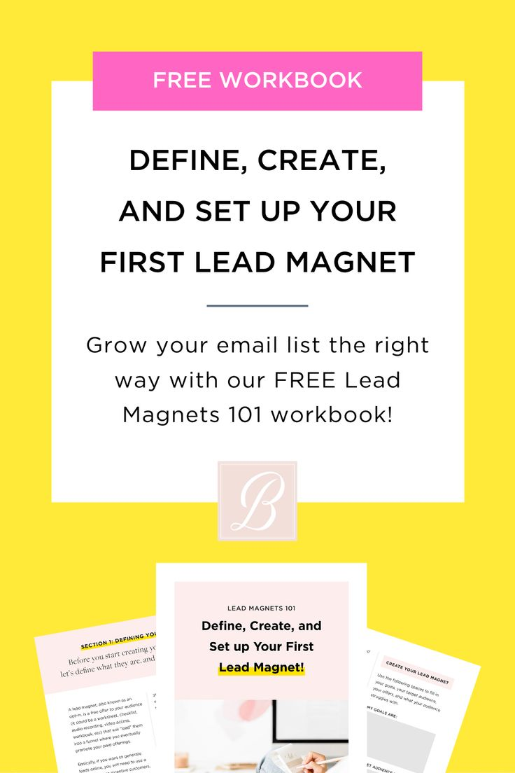 If you want to grow your email list and attract an audience who love your work then you need to have