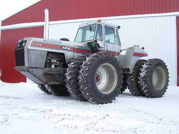 White 4-270. The biggest 4wd White tractor built.