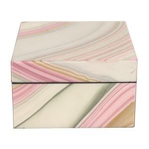 Iris Paper Small Lacquer Box: Iris Paper