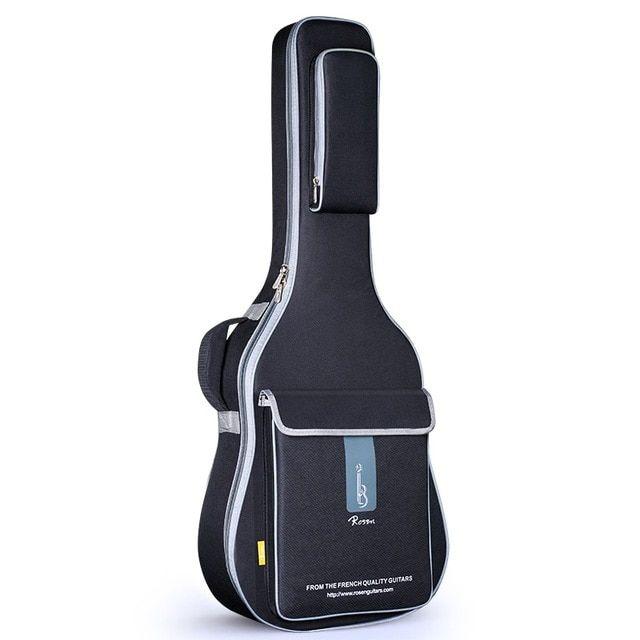 Free Shipping 41inch Acoustic Guitar Folk Bag Waterproof 36inch Travel Guitar Case 40inch Guitar Bag 36 38inch Guitar Bag Cover R Guitar Bag Guitar Case Guitar