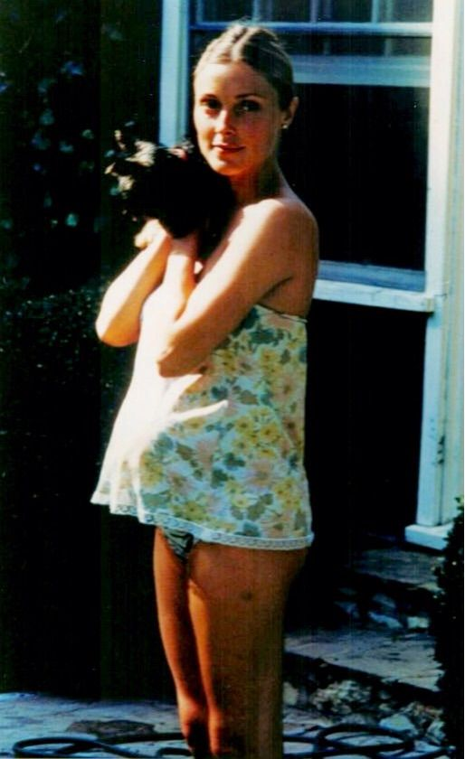 sharon tate-taken on or very near the day she was murdered